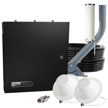 SureCall Fusion5s ProWay Home/Office Cell Signal Booster with 2 Antennas (SC-PolysH/O-72-PRO2)