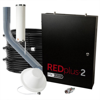 ProWay Cel-Fi REDplus:2 FirstNet 3-Carrier 100 dB Cell Signal Booster (TS559310)