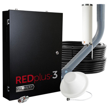 ProWay Cel-Fi REDplus:3 FirstNet 4-Carrier 100 dB Cell Signal Booster (TS559410)