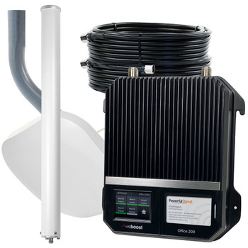 weBoost Office 200 Plus Kit   Commercial Cellular Booster 50 Ohm 1 Antenna   Top Signal Series   472047