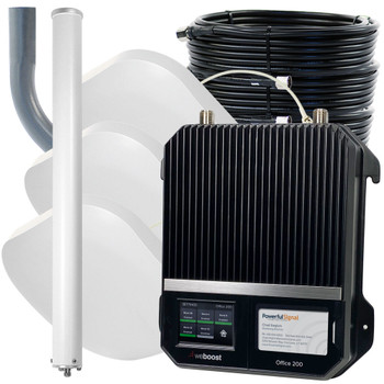 weBoost Office 200 Commercial Cellular Booster 50 Ohm 3 Antennas | Top Signal Series | 472047