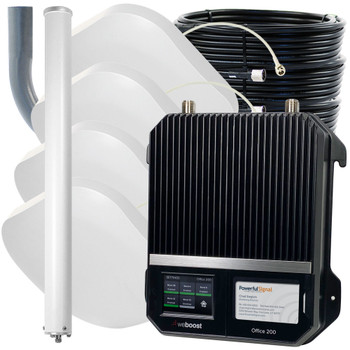 weBoost Office 200 Commercial Cellular Booster 50 Ohm 4 Antennas | Top Signal Series | 472047