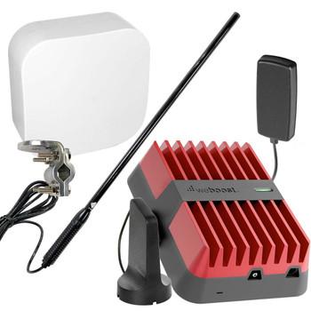 RV weBoost Drive Reach Class B & Class C with High-Gain Whip Antenna | Top Signal Series | 470154-RBC