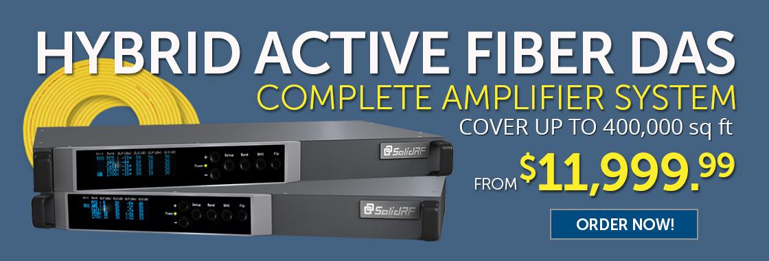 Active Fiber DAS Cellular Signal System