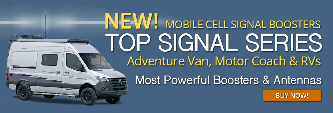 Top Signal Series Cell Signal Boosters for RVs
