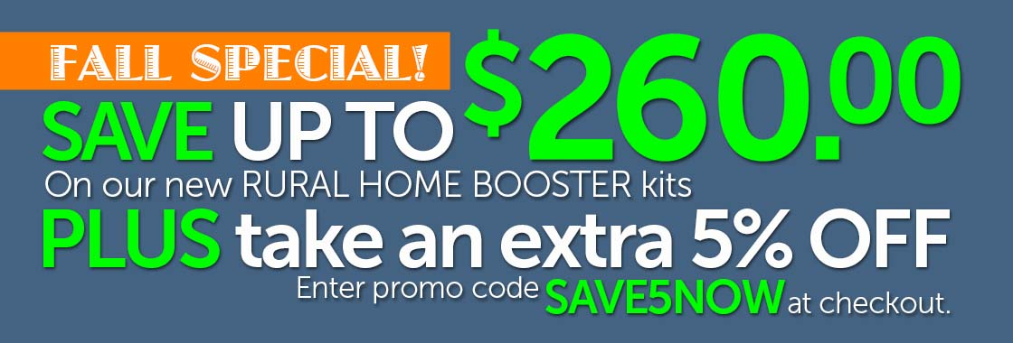 Rural Home Cell Signal Booster Sale