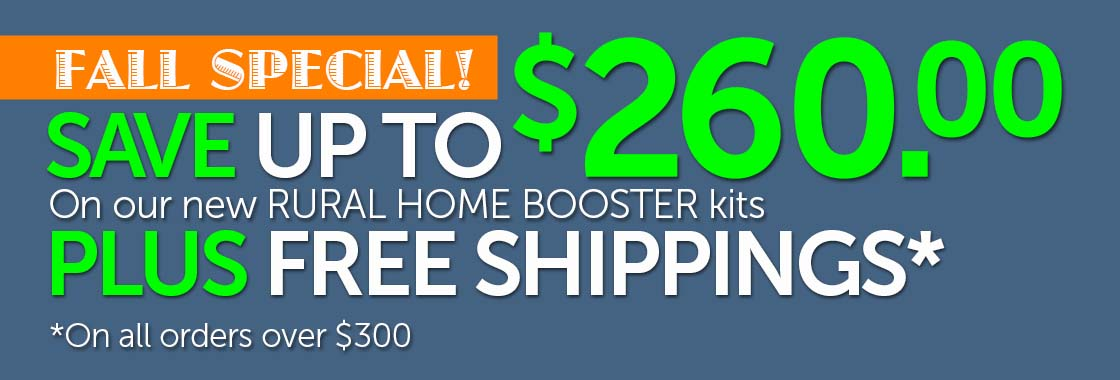 Rural Home Signal Boosters Sale