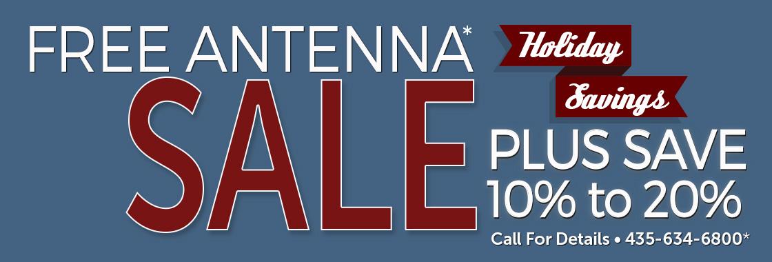 Free Antenna Holiday Sales