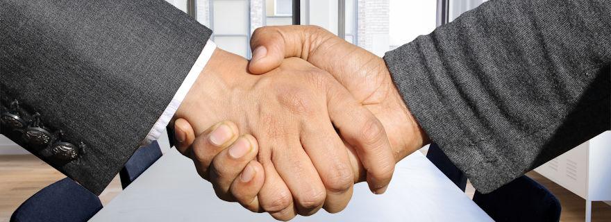 Handshake image via Pixabay.com