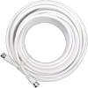 Wilson RG6 coax cable white 15 ft. F-male connectors 950615 icon