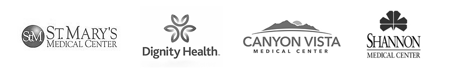 St. Mary's Medical Center, Dignity Health, Canyon Vista Medical Center, Shannon Medical Center