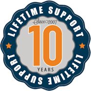 Powerful Signal has been providing lifetime support for over 10 years, since 2007