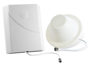 Panel antenna and dome antenna