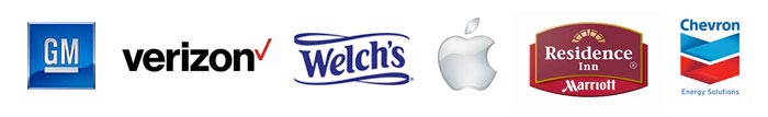 Powerful Signal's satisfied customers include General Motors, Verizon, Welch's, Apple, Residence Inn by Marriott, Chevon