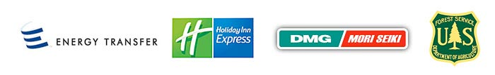 Powerful Signal's satisfied customers include Energy Transfer, Holiday Inn Express, DMG/Mori Seki, U.S. Forest Service