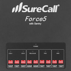 SureCall Force5 2.0 front panel