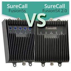 SureCall Fusion5s (SC-POLYSH/O-72) vs. SureCall Fusion5X 2.0 (SC-FUSION5X2)