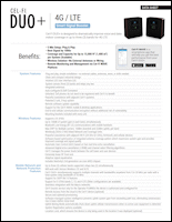 Download the Cel-Fi DUO+ Wireless Smart Signal Booster D32-2/4/13 data sheet (PDF)
