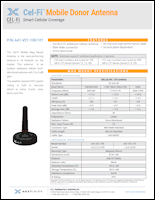 Download the Cel-Fi mobile donor antenna A41-V21-100 data sheet (PDF)