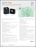 Download the Cel-Fi PRO Wireless Smart Signal Booster P34-2/4/5/12 data sheet (PDF)