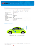 Download the HiBoost Travel 4G LTE spec sheet (PDF)