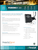 Download the SureCall Fusion5X 2.0 spec sheet (PDF)