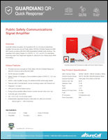 Download the SureCall Guardian3 QR spec sheet (PDF)