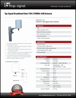 Download the Top Signal TS210371 spec sheet (PDF)