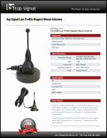 Download the Top Signal TS210381 spec sheet (PDF)
