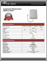 Download the Top Signal TS260771 spec sheet (PDF)