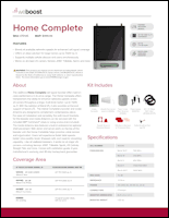 Download the weBoost Home Complete 470145 spec sheet (PDF)