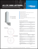 Download the Wilson Electronics 304421/304424 building antenna spec sheet (PDF)
