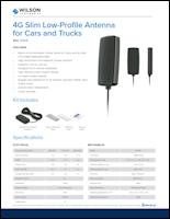 Download the Wilson 314419 antenna spec sheet (PDF)