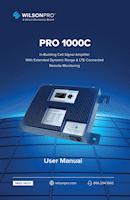 Download the WilsonPro 460242 Pro 1000C user manual (PDF)