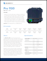 Download the WilsonPro 1000 spec sheet (PDF)