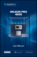 Download the WilsonPro 4000/4000R user manual (PDF)