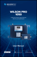 Download the WilsonPro 460230 Pro 1050 user manual (PDF)