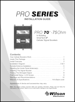 Download the WilsonPro 70 463134 install guide (PDF)