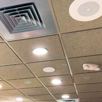 Top Signal Ultra-Thin Ceiling-Mount Dome Antenna N-Female TS250376 installed in a drop ceiling 3