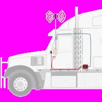 weBoost Drive Reach OTR Trucker 470154 setup example