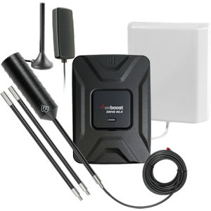weBoost Drive 4G-X RV+Car 2-in-1 Cell Signal Booster 470510