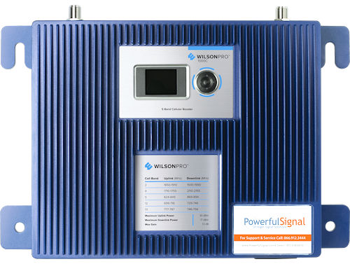 WilsonPro 1000C 4G cellular DAS signal booster with Cloud Service integration