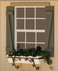 Homestead Shed Window with Shutter
