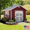 12' x 24' Homestead Shed Kit | EZ Fit Sheds in Winesburg, Ohio