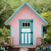 EZ - Fit A-Frame 6x6 Playhouse built by EZ Fit Sheds in Amish Country Ohio