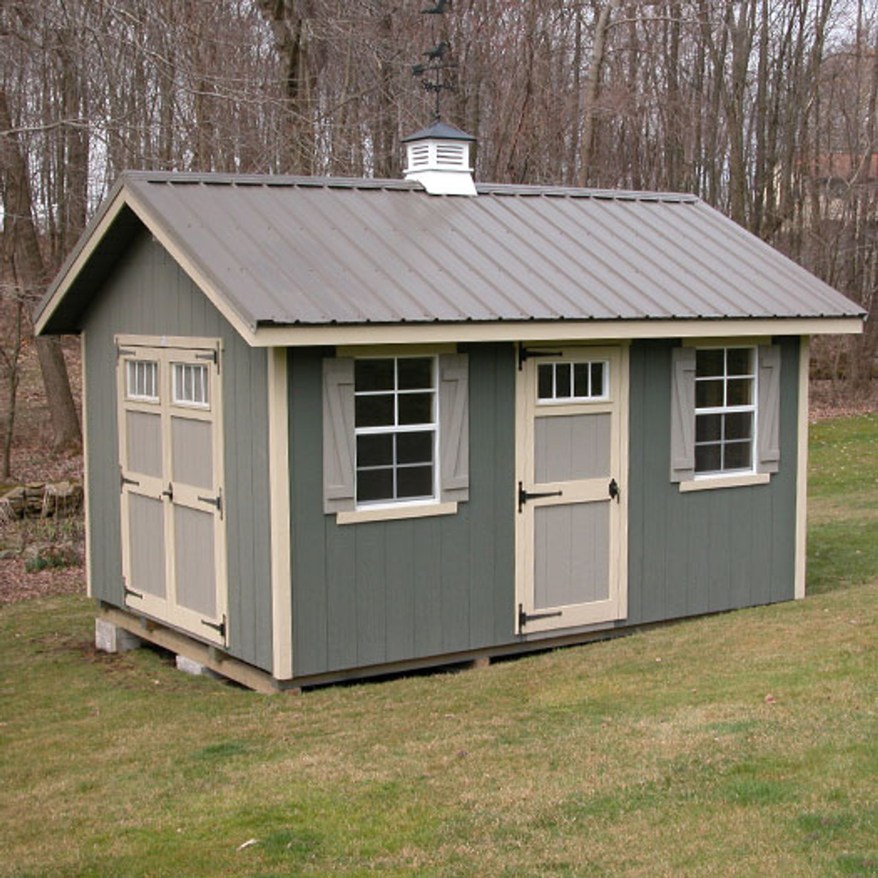 Storage Sheds Riverside Shed Kit Ez Fit Sheds Amish