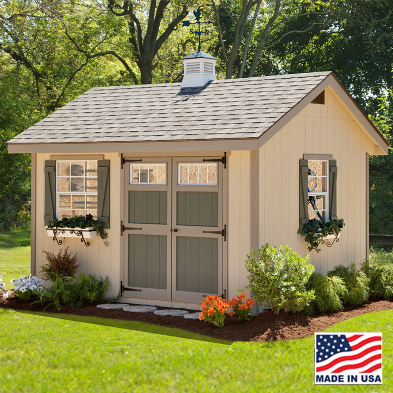 Heritage Shed Kit 10 X 12 Ez Fit Sheds Amish Country Ohio