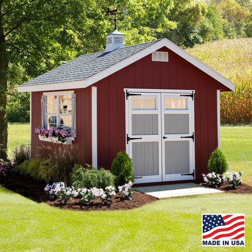 12' x 16' Homestead Shed Kit