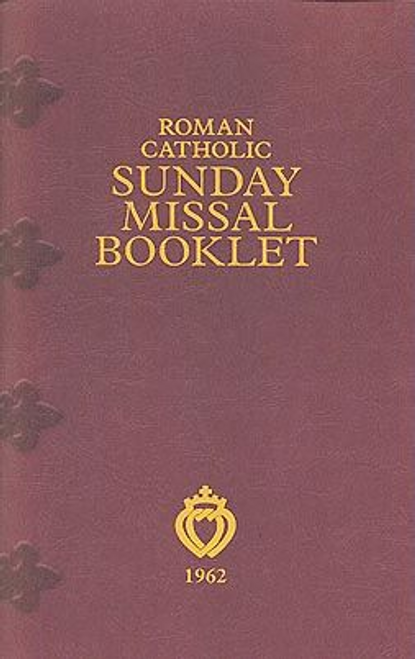 Roman Catholic Sunday Missal Booklet