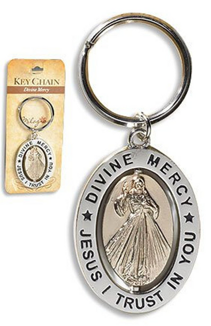 Divine Mercy Key Chain